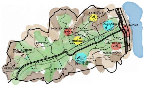 Mappa Ecomuseo